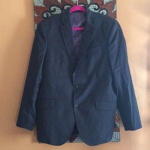 Ted Baker Endurance Navy Blue Purple Blazer Jacket